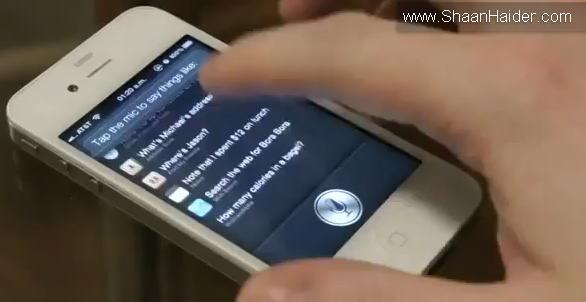 Siri working on hacked iPhone 4 (Video)