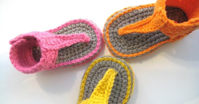 ... Gladiator Sandals - Crochet Pattern for Baby, New Design for Spring