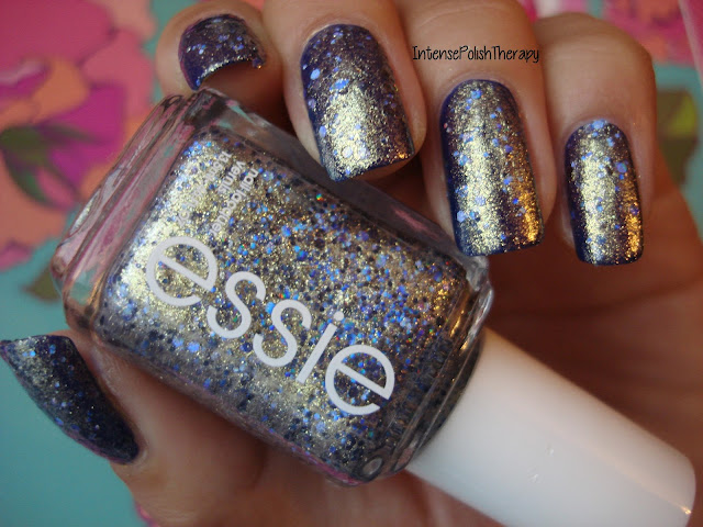 Essie - On a Silver Platter over OPI - Eurso...Euro
