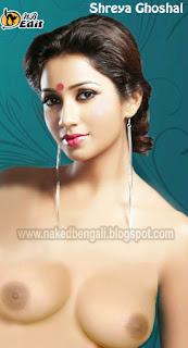 Naked Shreya Ghoshal Sexy Boobs