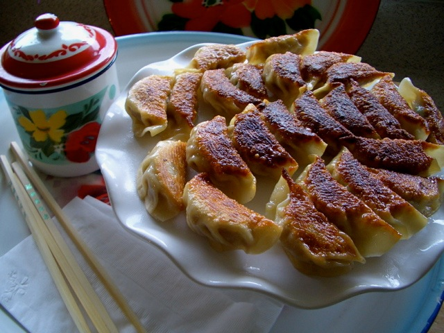 ... Chinese Recipes: Guo Tie and Jiaozi (pot stickers and pork dumplings