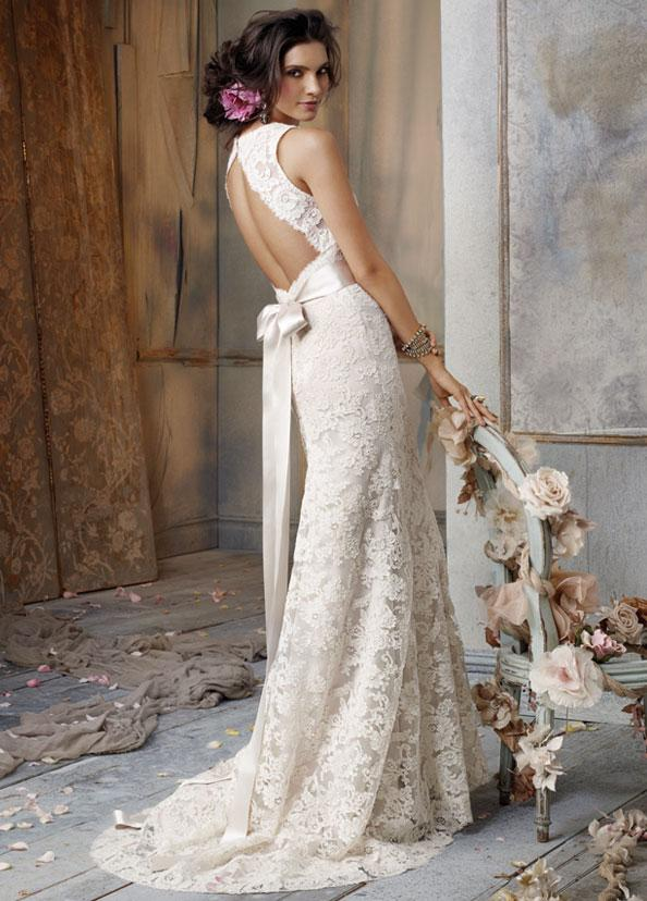 WhiteAzalea Sheath Dresses Lace Sheath Wedding Dresses