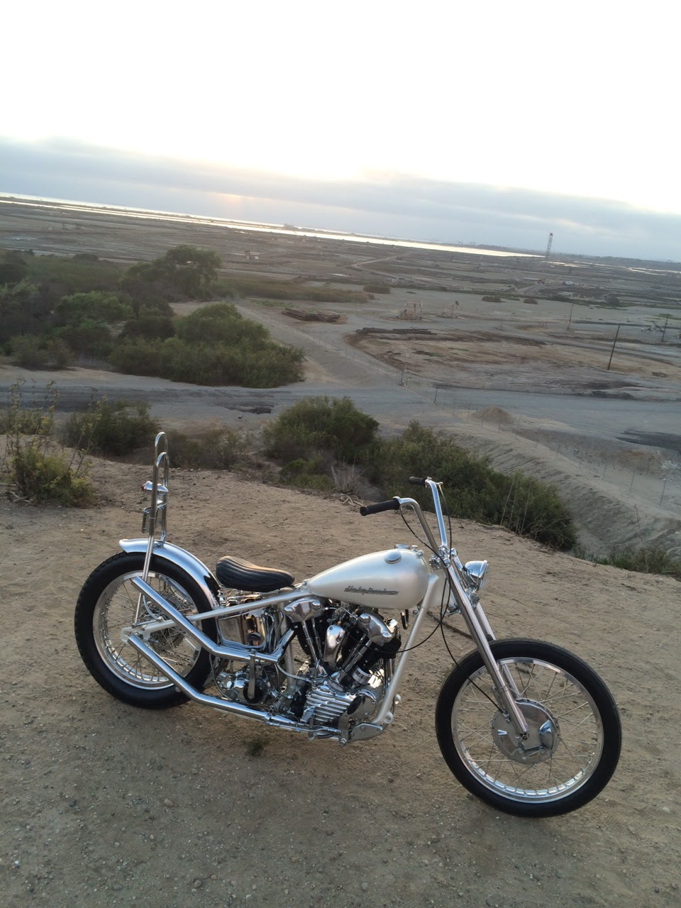 1942 knucklehead chopper for sale