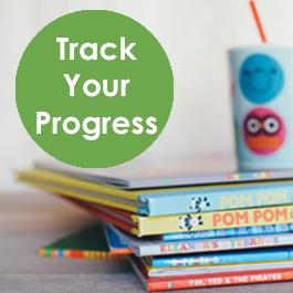 LOG BOOKS & TRACK YOUR PROGRESS