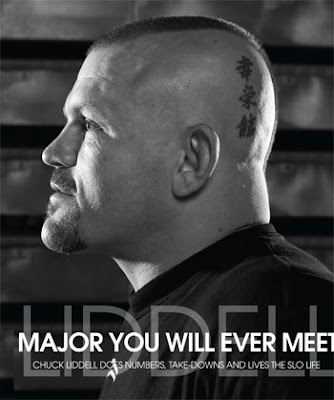 Chuck Liddell Head Tattoo Design Picture Gallery - Chuck Liddell Head Tattoo Ideas