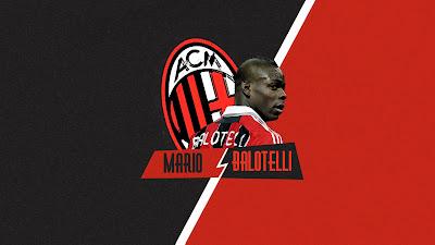 AC Milan Wallpaper - Mario Balotelli 2014 HD Wallpaper for Desktop