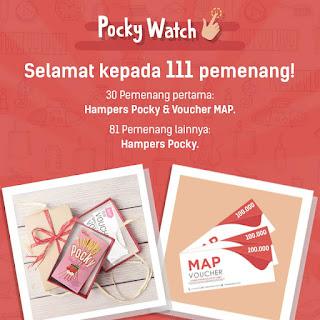 Info Pemenang - Pengumuman Pemenang Pocky Watch