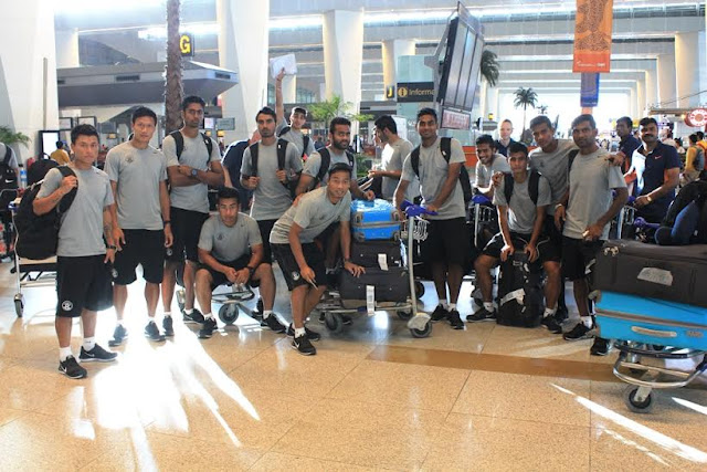 Team India departs for Guam for WCQ match