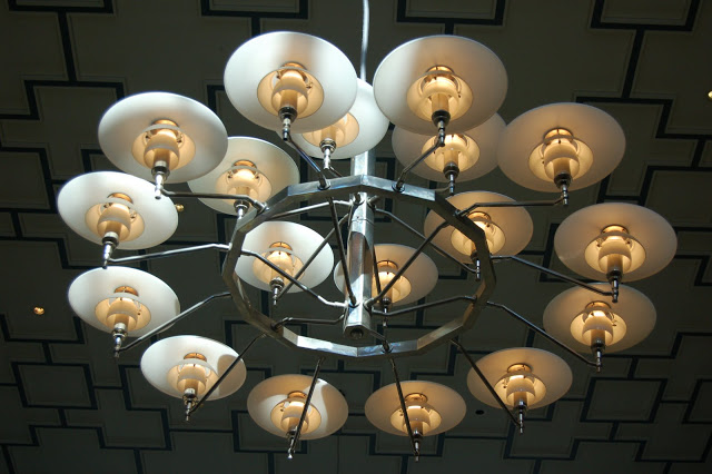 PH Lamps by Poul Henningsen in Aarhus Central Station