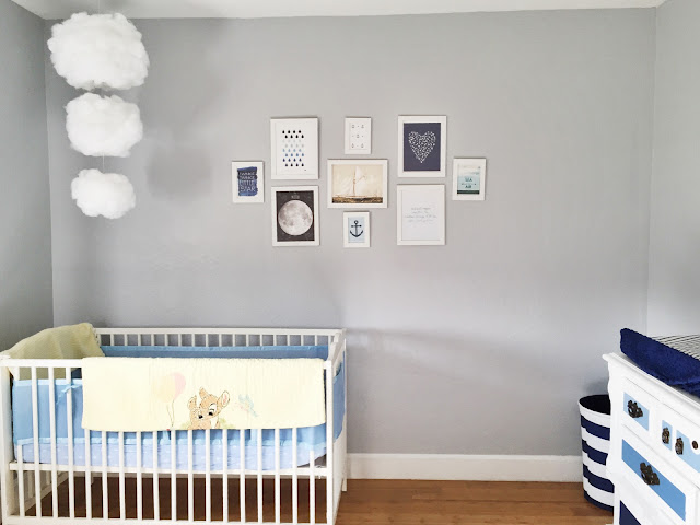 Nautical Baby Room Wall Decor