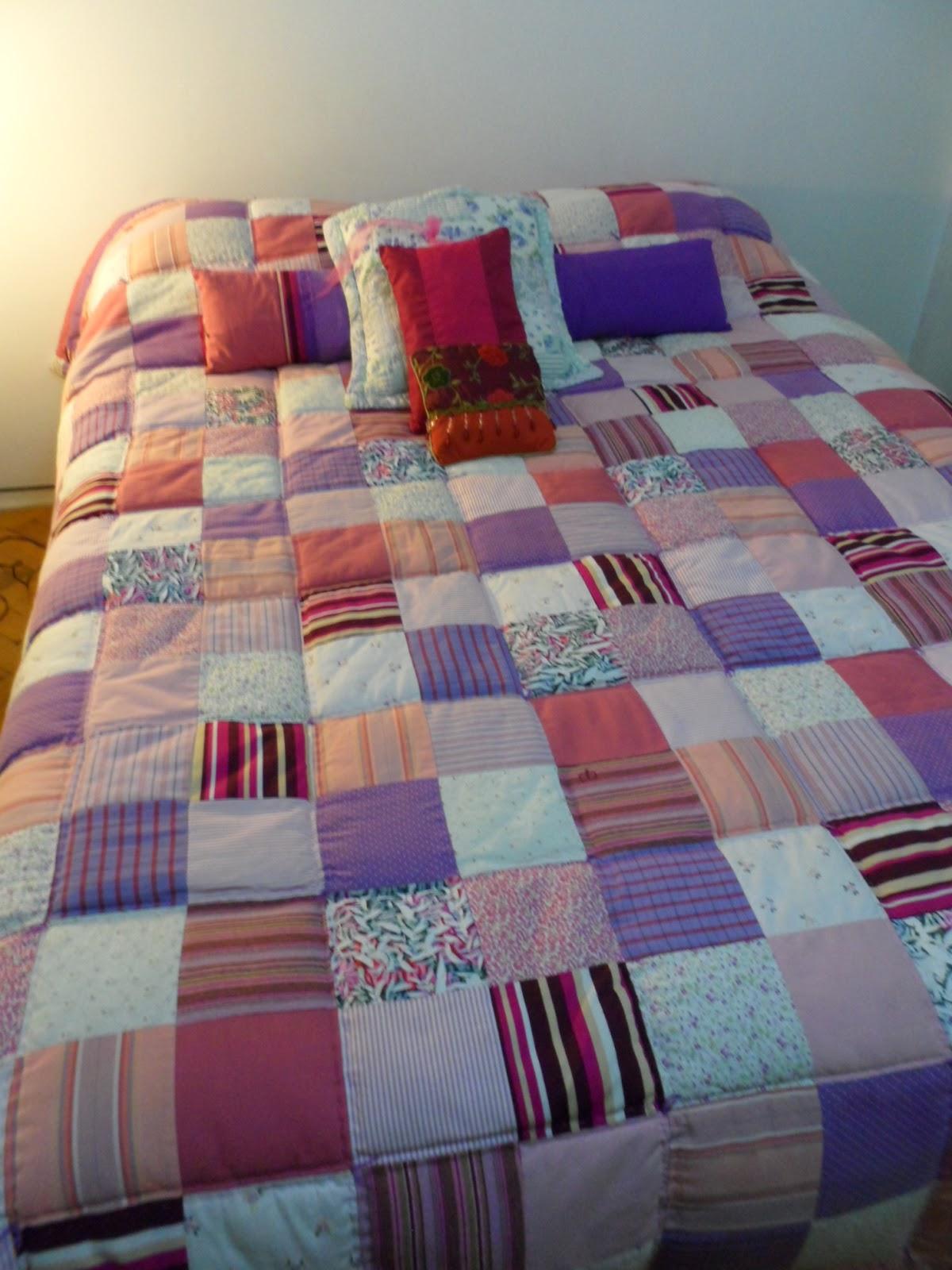 Mis patch acolchado y almohadones en patchwork combinado - Acolchados en patchwork ...