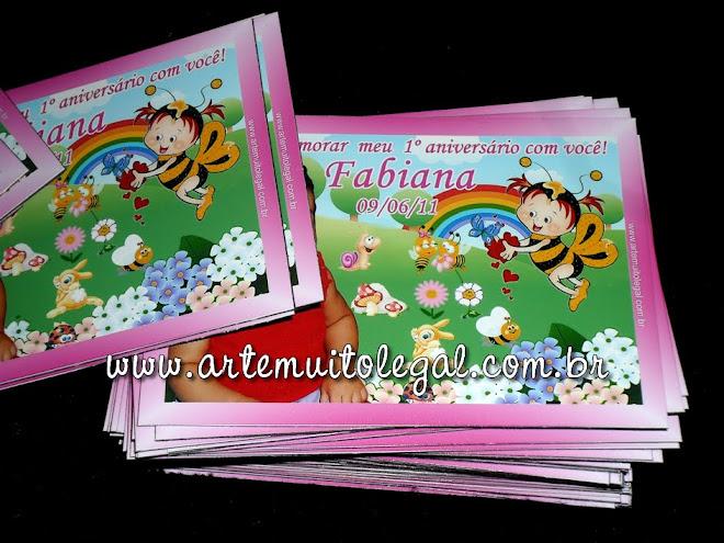 62-Arte muito legal -  Convites infantis e lembrancinhas Arte muito legal
