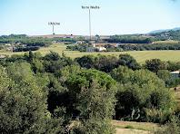 La Torre Niella des del Camí de Sant Hilari