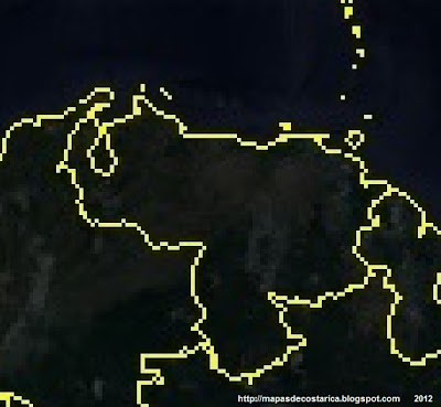 Mapa de VENEZUELA, Google Earth (vn)