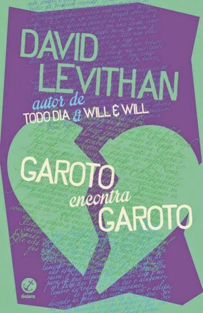 Capa do livro Garoto Encontra Garoto, David Levithan