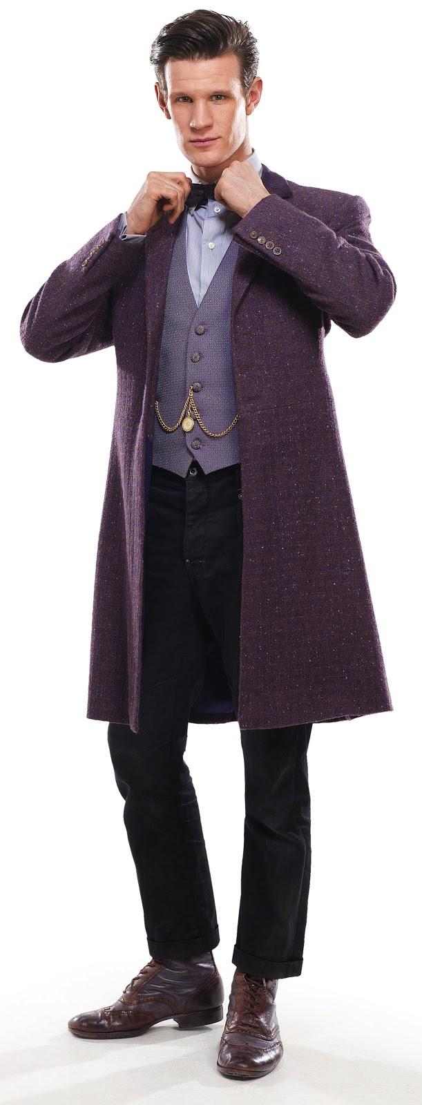 Making My 11th Doctor Costume: The Bells Of Saint John - costume ...