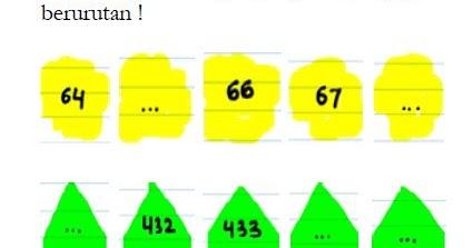 Soal Mengurutkan Bilangan Kelas 3 Sd N 1 Kebumen