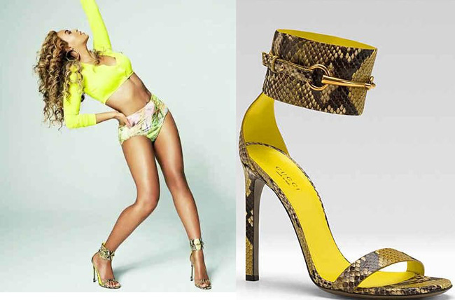 spring, trend, heels, zara, ankle strap heels, ankle heels, ankle strap sandals, neon, prabal gurung, neon pointed shoe, black white, minimalistic, gold cuff sandals, gold cuff, jeffrey campbell, gold chunky chains, gucci, beyonce