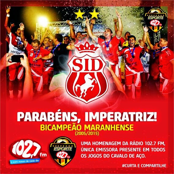 IMPERATRIZ CAMPEÃO 2015