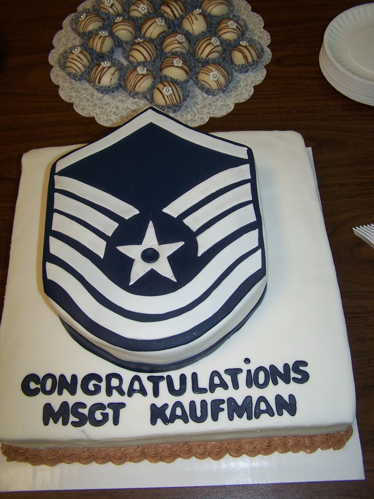 Promotion Cake Ideas Air Force Promotion Cake