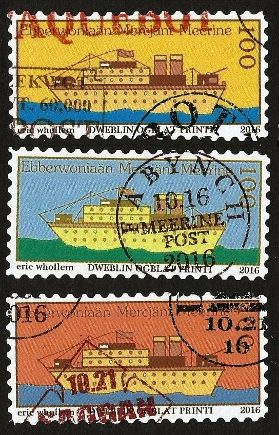 STAMPS OF EBERWONIA