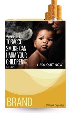 etiqueta anti tabaco