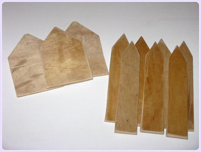 деревянный  забор - декор  своими  руками