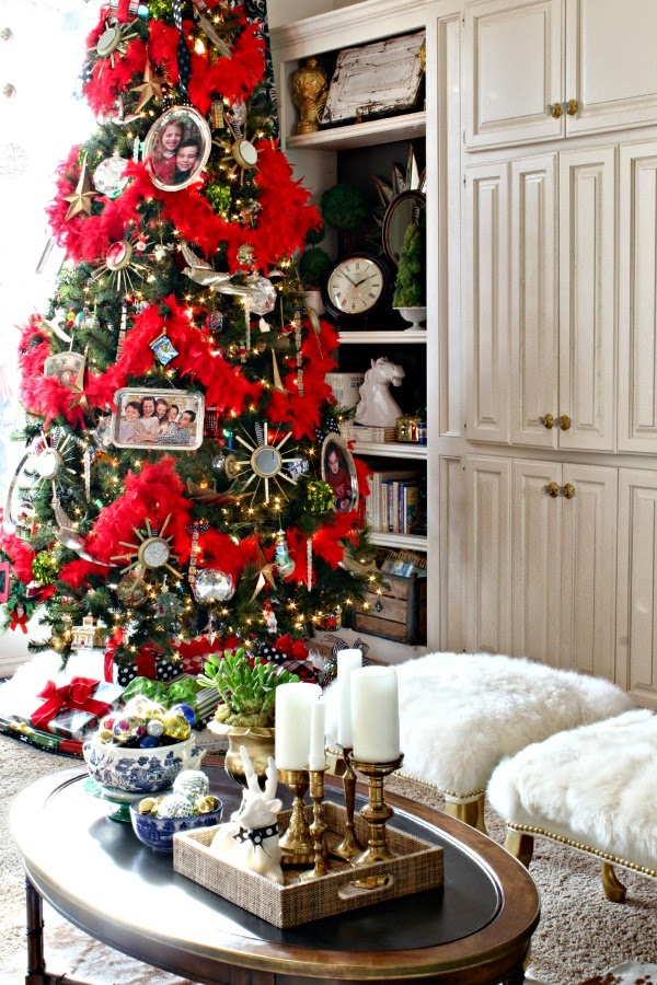 CHRISTMAS 2014 HOME TOUR {BLOGGER STYLIN\' HOME TOURS} - Dimples and ...