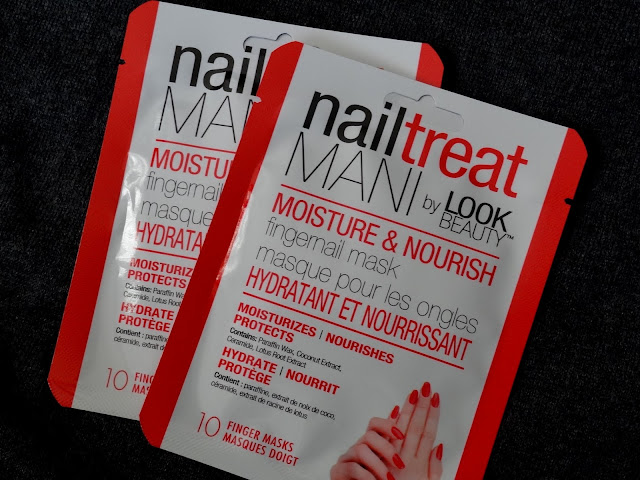 Nailtreat Mani by Look Beauty Moisture & Nourish Fingernail Mask