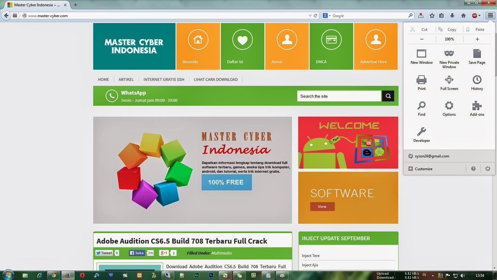 Download Mozilla Firefox 32.0.3 Terbaru Offline Installer