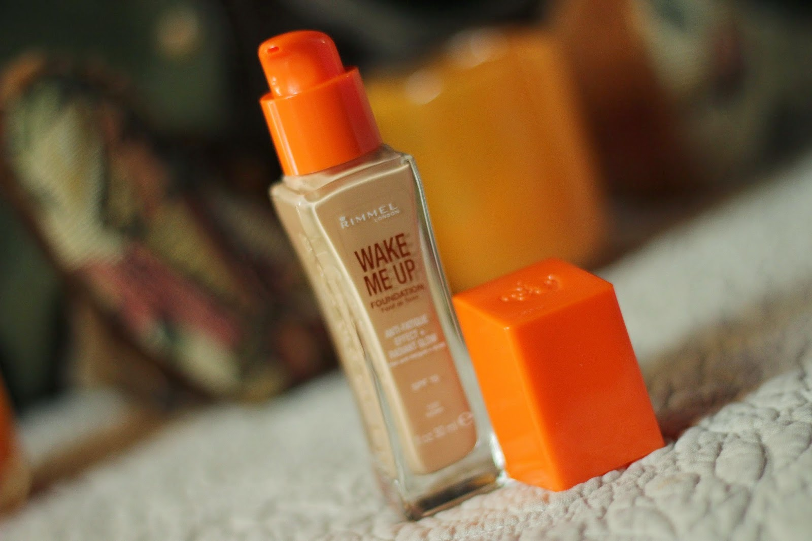 first impressions rimmel wake me up foundation