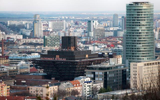 Radio Eslovaca en Bratislava