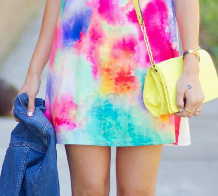 Color Splash Dress