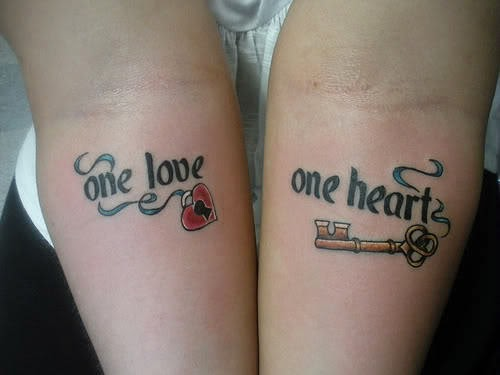 Cool Love Tattoo Designs & ideas For Girls
