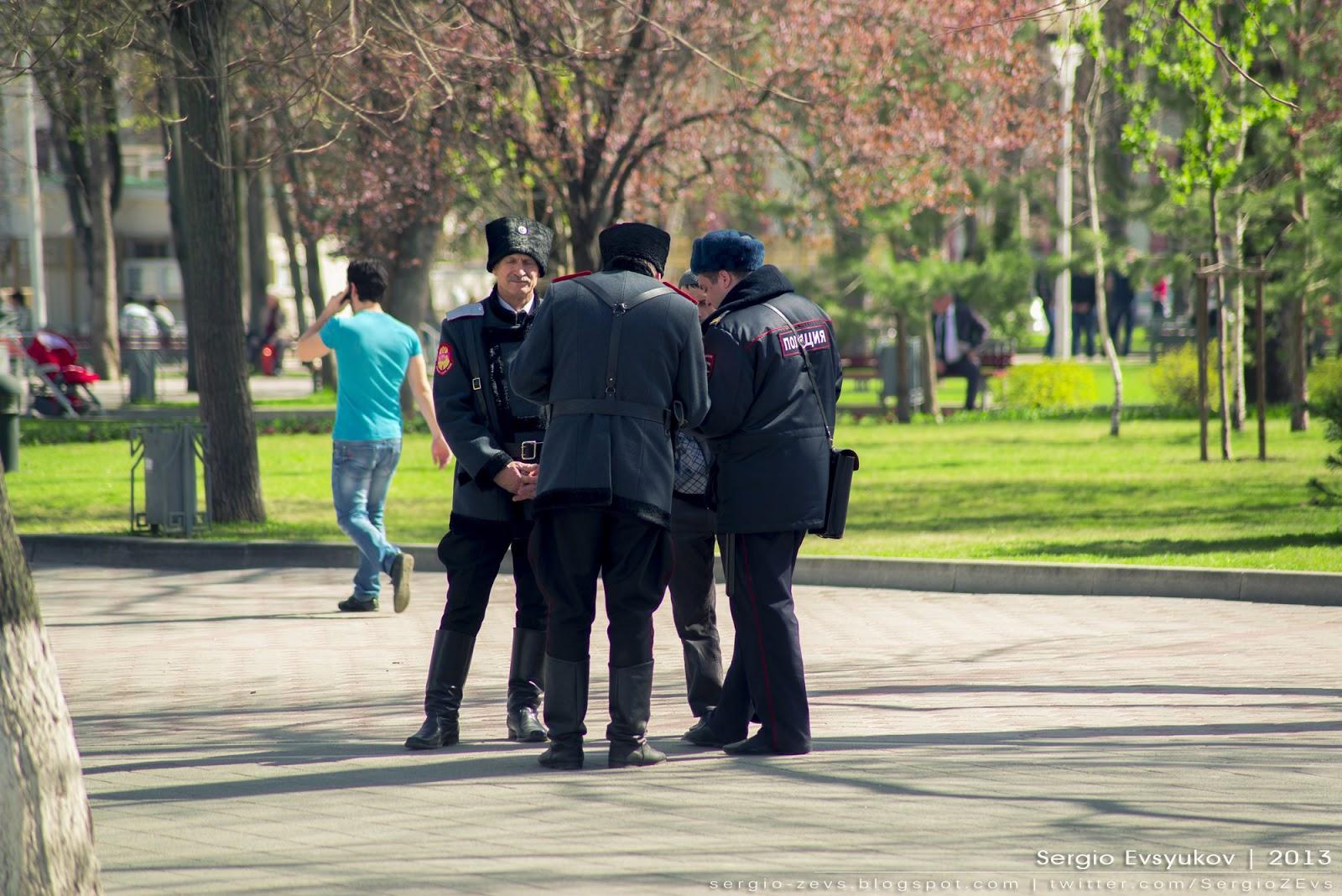 Казаки, полиция, Ткачев, Краснодар, Кубань, задержали, весна,