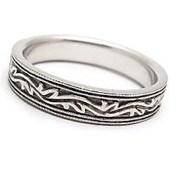 Ornate Wedding Band