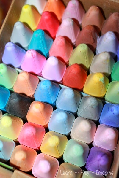 Ideas for a sidewalk chalk play date
