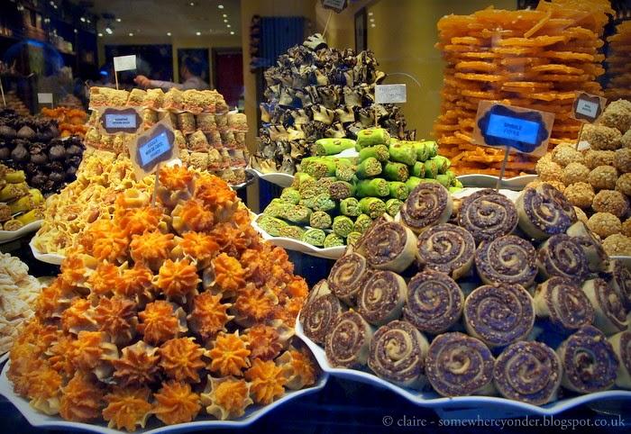 Window display - Belgium biscuit shop, Brussels