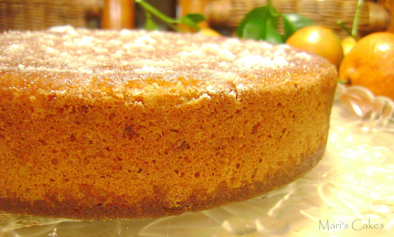 Orange Pineapple Cake From Scratch