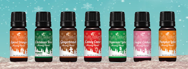 A holiday gift guide for the essential oil love in your life, including a diffuser, EO accessories, oil suggestions, holiday bleands & more!