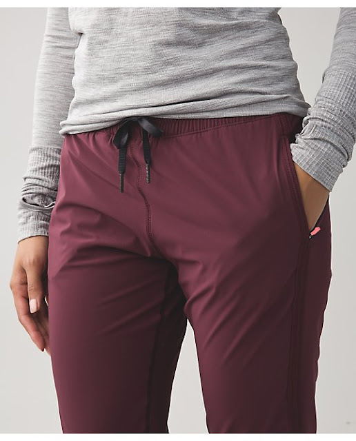 lululemon track-to-reality-pant bordeaux
