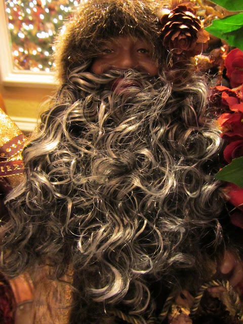 Embellishments by slr: christmas 2011 foyer table