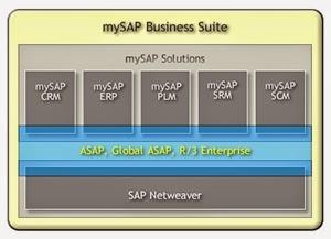 ماهي حزم البرمجيات التي تقدمها ساب SAP Business Suit؟