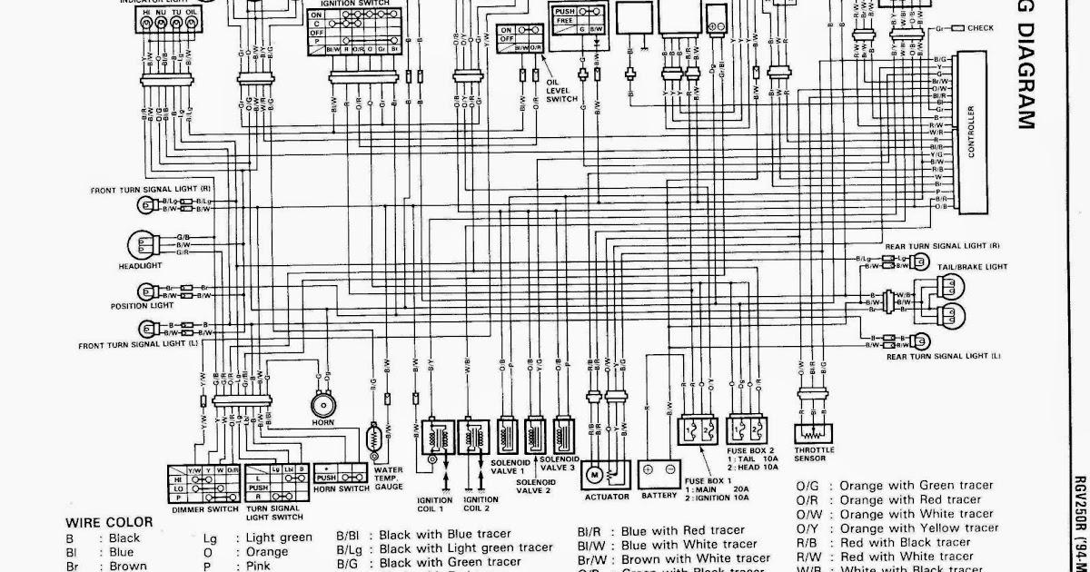 Suzuki Rgv 250 Vj22 1995 Rebuild Log  Manual