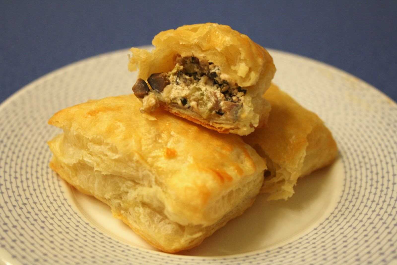 cheese turnovers olive and goat cheese goat cheese spinach chive goat ...