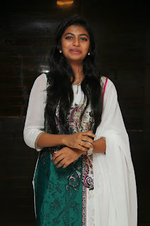 Actress Anandhi Picture Gallery in Salwar Kameez at Kayal Movie Audio Launch  4