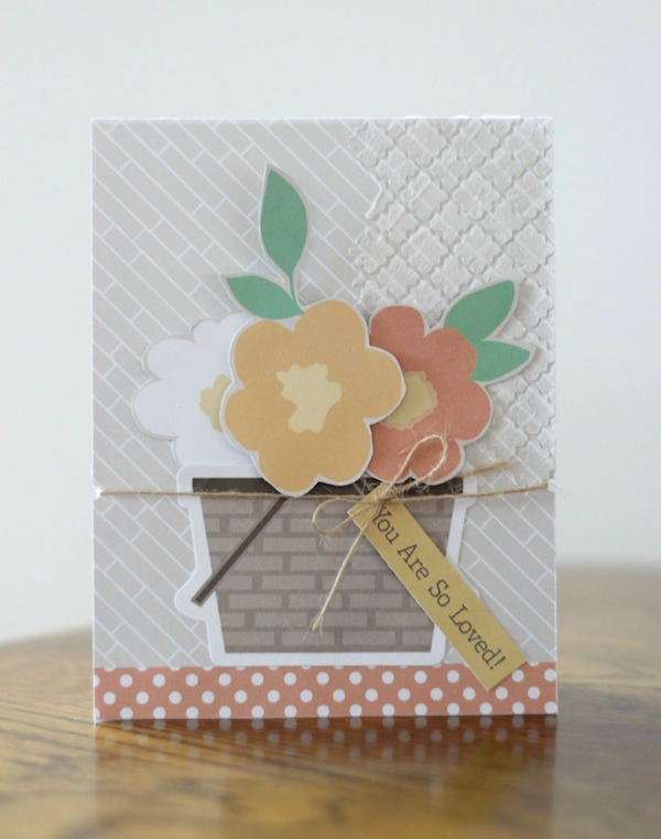 Amy Tsuruta Chickaniddy Crafts Cards W/Flowers 3