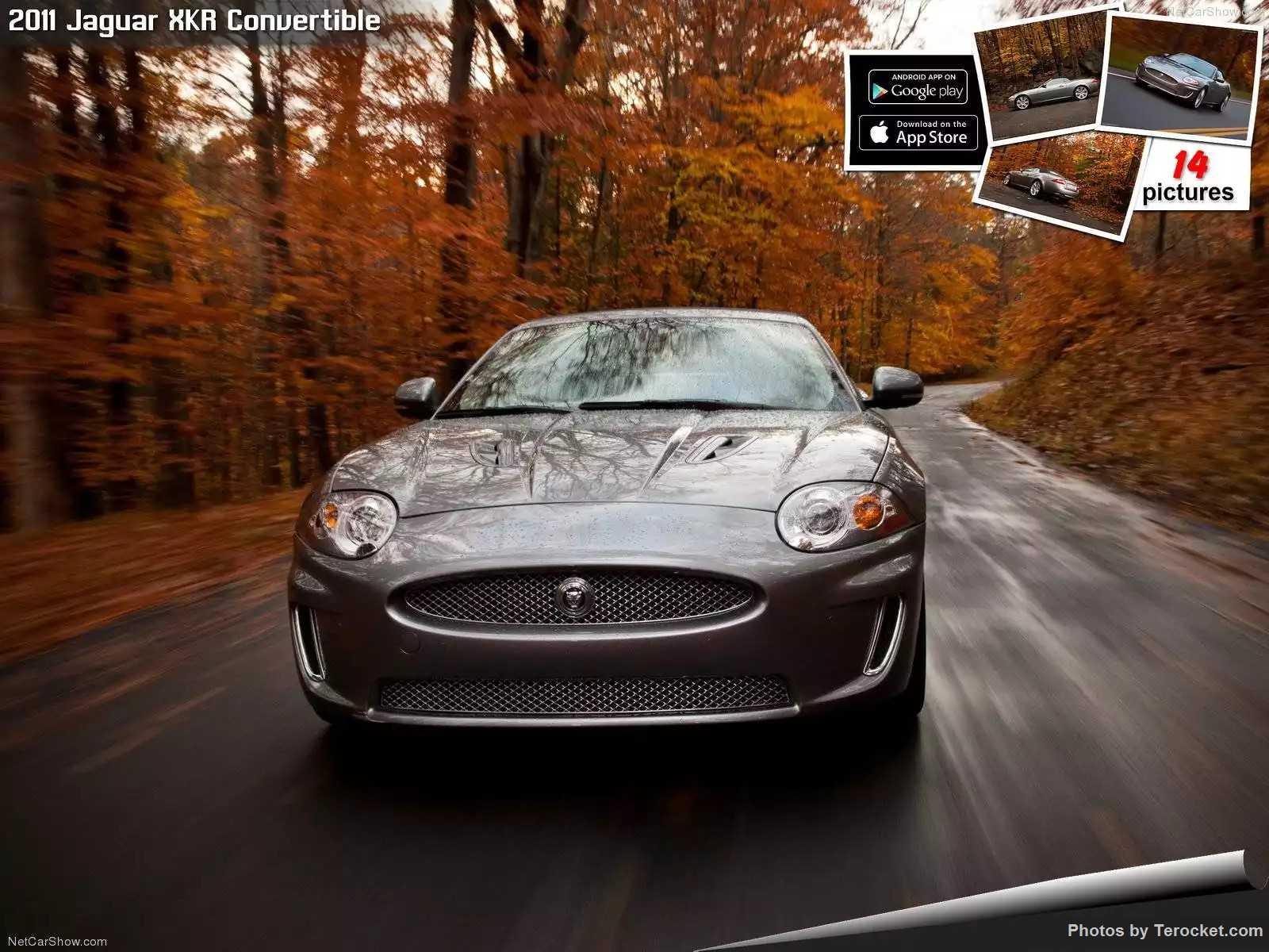 Hình ảnh xe ô tô Jaguar XKR Convertible 2011 & nội ngoại thất