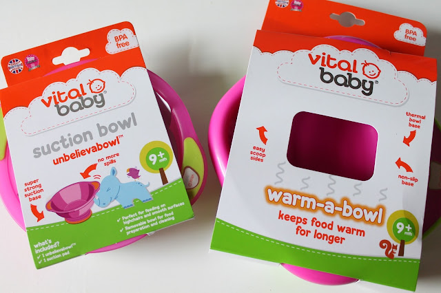 vital baby suction bowl and warm-a-bowl