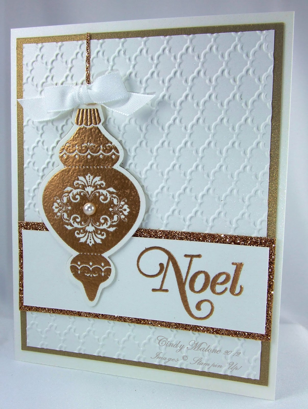 Discover stamping elegant ornament for Elegant homemade christmas cards